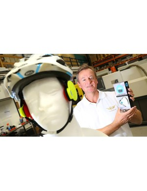 Helmet Angel claims to be a new invention for reducing wind noise