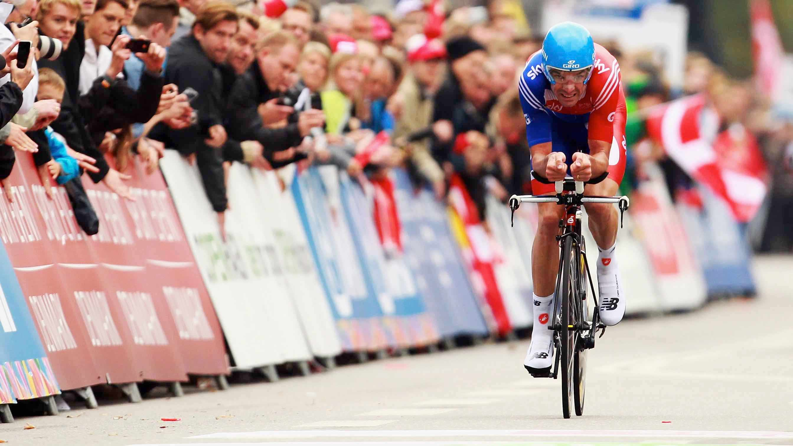Time trialling is just you against the clock – and that's part of its appeal, says Millar