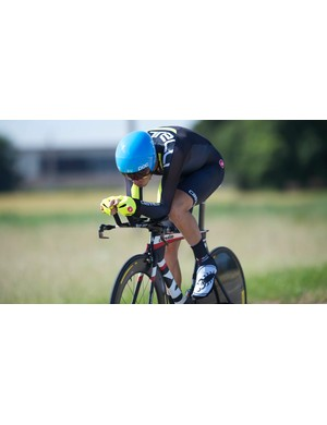 Time trials should be ridden in a calm state of mind and body