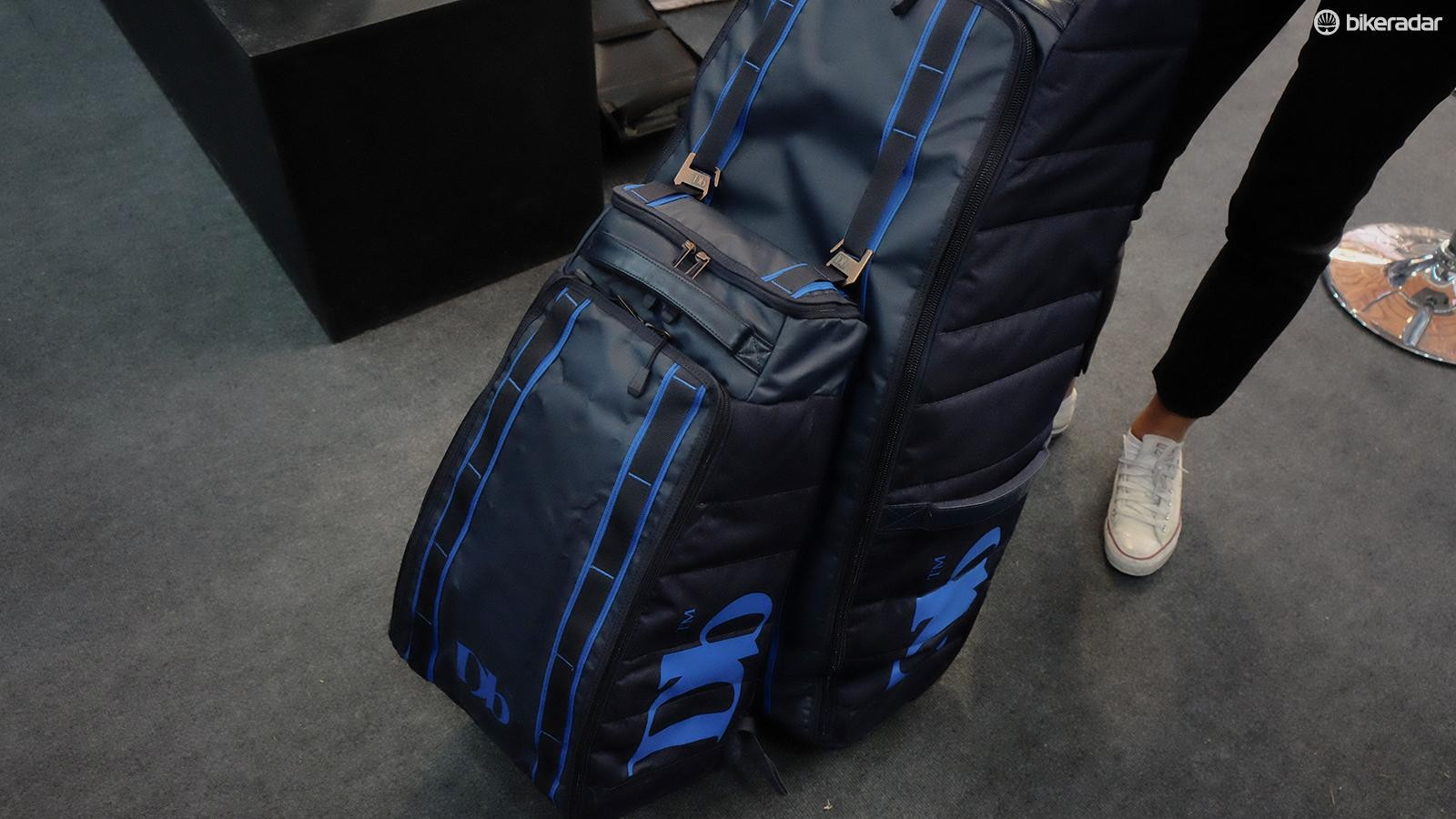 Douchebags got its start making ski bags and luggage. We appreciate the more subtle 'Db' branding on the product.