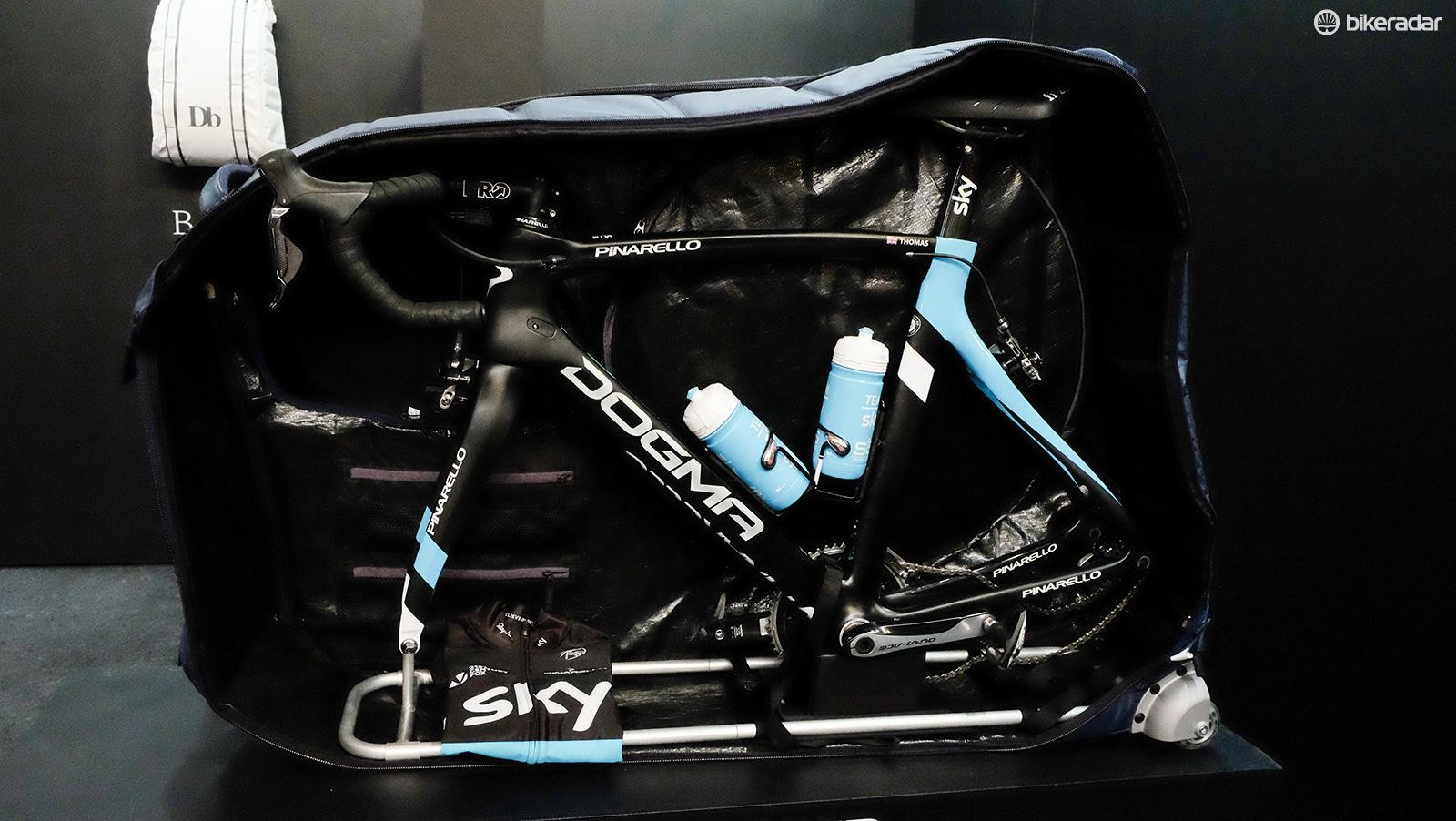 The Tour bag was designed with input from Team Sky