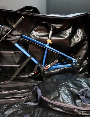 The Trail is Douchebag's mountain bike travel case