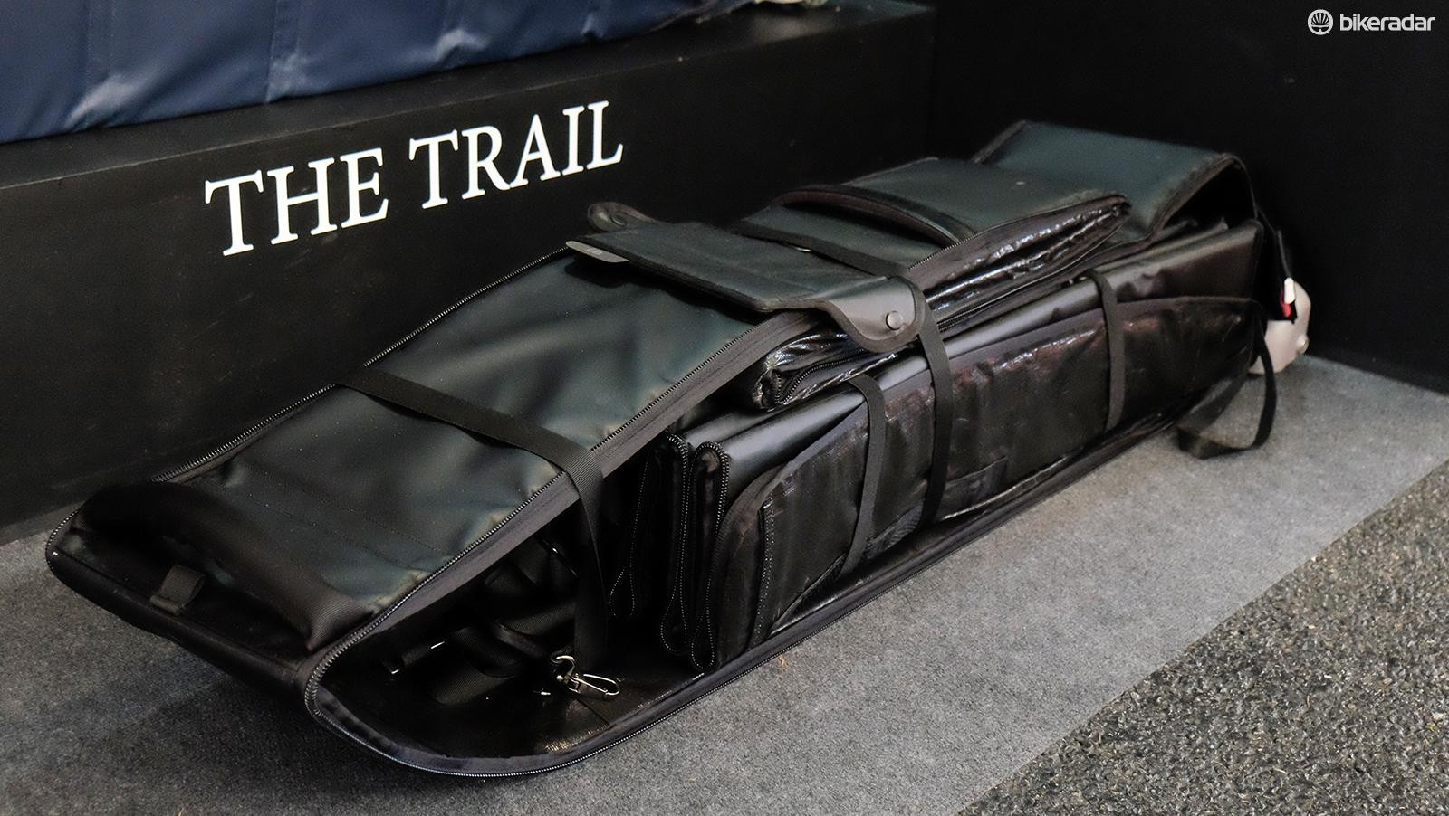 Both the Tour and Trail pack down when not in use