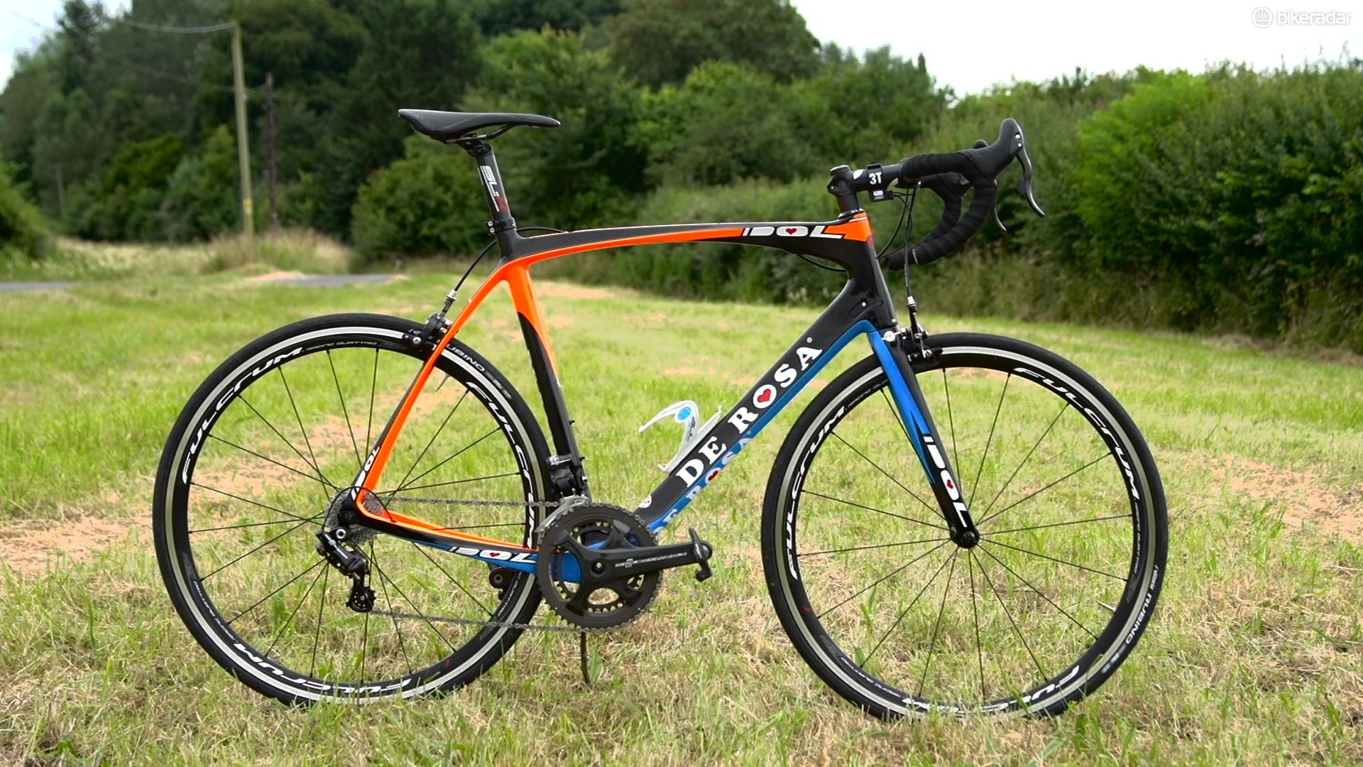 The De Rosa Idol EPS is aimed at the gran fondo rider