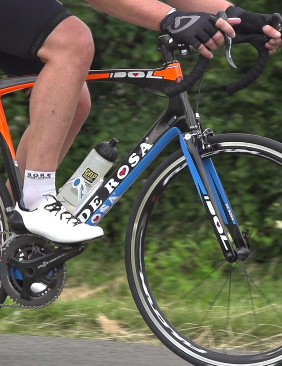 The bike's ride and shifting quality are superb