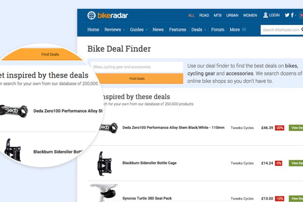 Search over 250,000 deals from the internet's biggest bike retailers