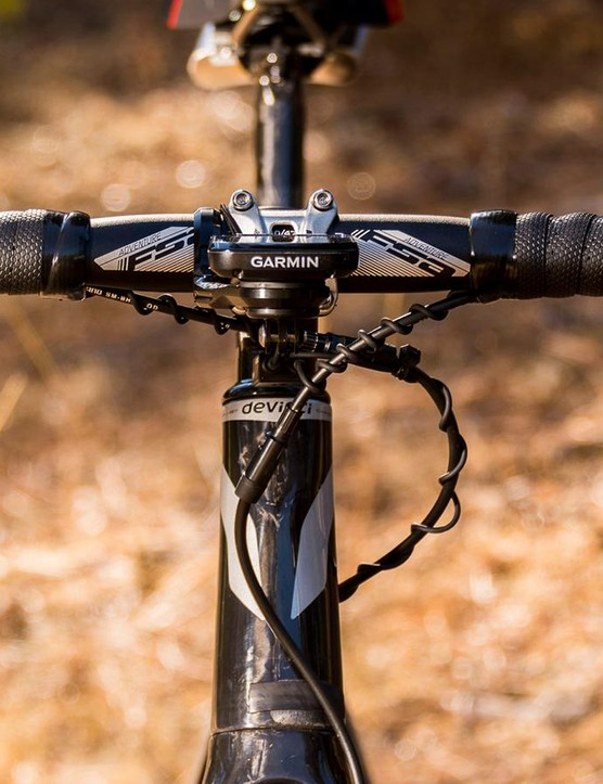 The FSA Adventure handlebar has 12 degrees of flare