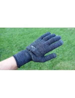Defeet's DuraGlove ET Wool gloves offer warmth, even in wet conditions