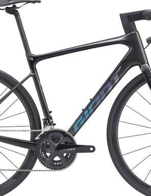 The Advanced Pro 2 uses the same top-grade frame but comes with Shimano 105