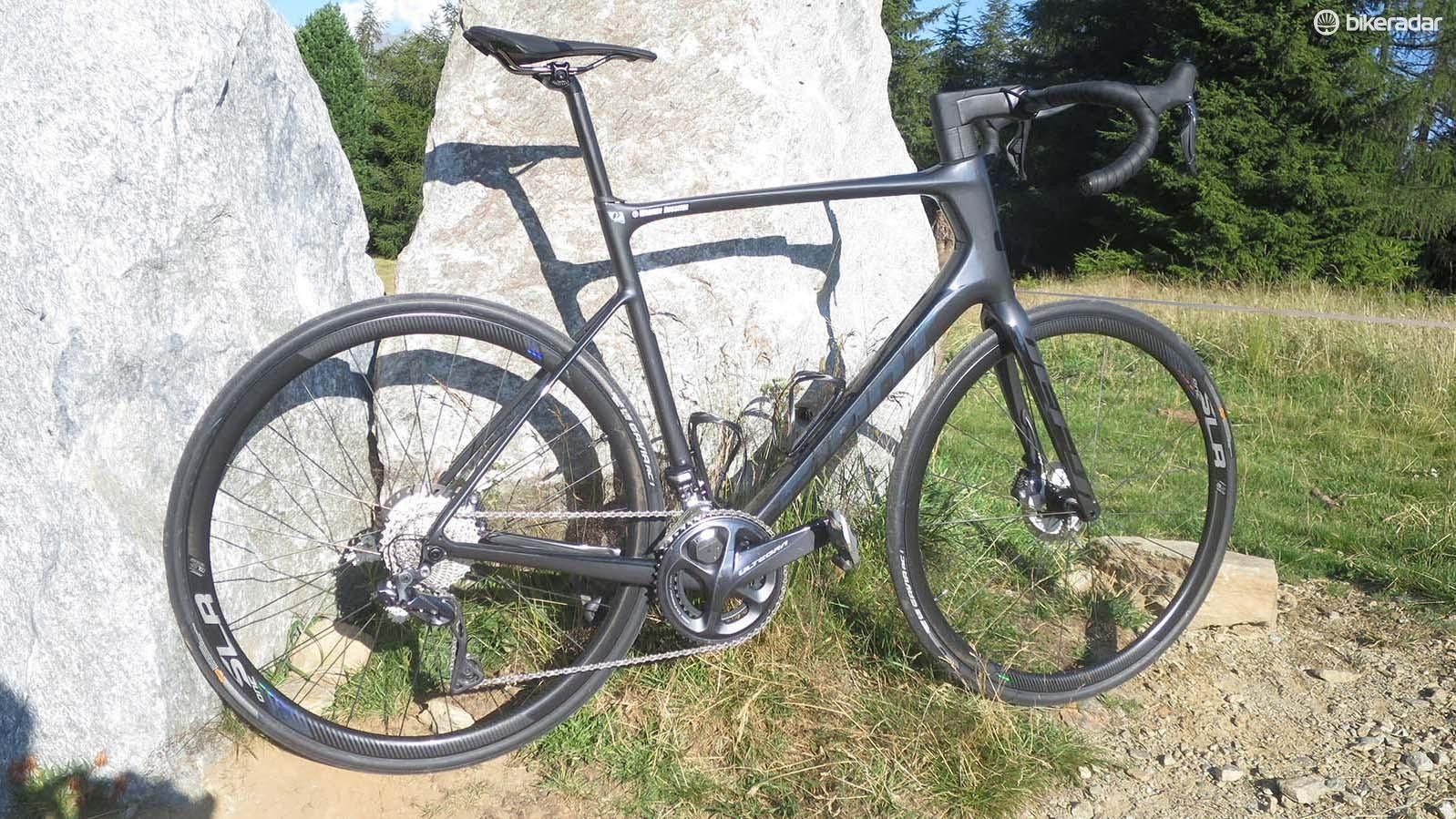 The new Defy, like the previous version, is disc brake only