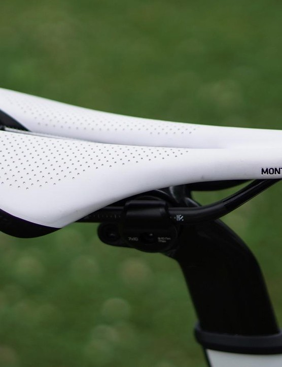 Bontrager originally conceived the Montrose as a mountain bike saddle. But if the shoe fits