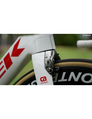 Trek has its own aero brakes on the Madone that - unlike some aero calipers - actually work pretty well