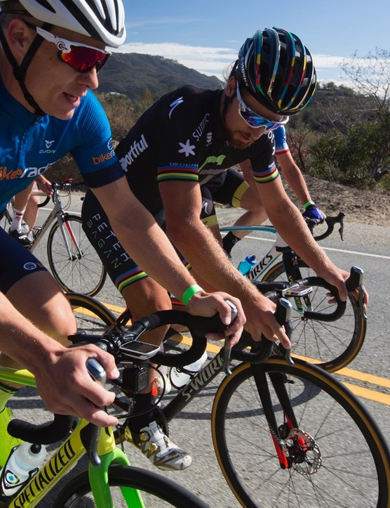 Peter Sagan held a fondo this year as a fundraiser for the Boys and Girls Club of America