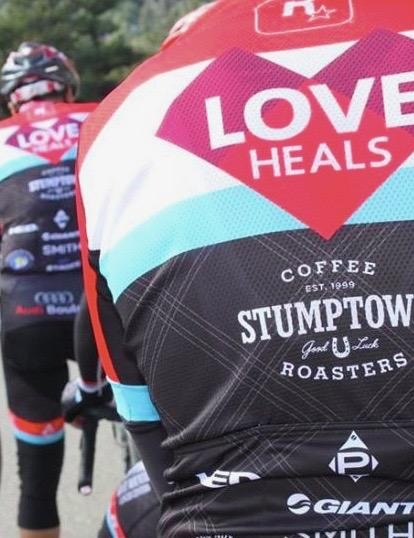 The B Strong ride raises money to improve education for cancer prevention and survivorship