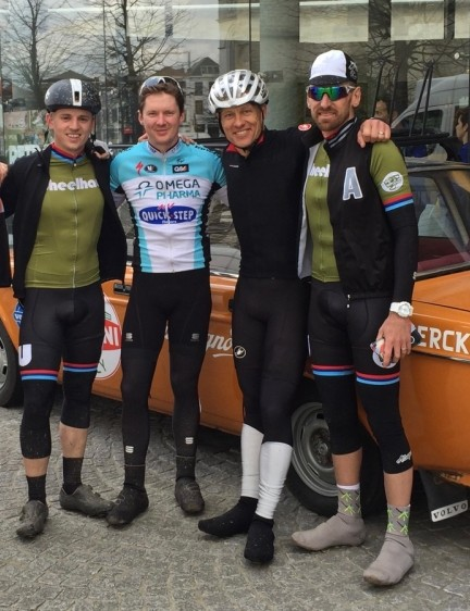 Riding in Flanders is a great way to make new friends