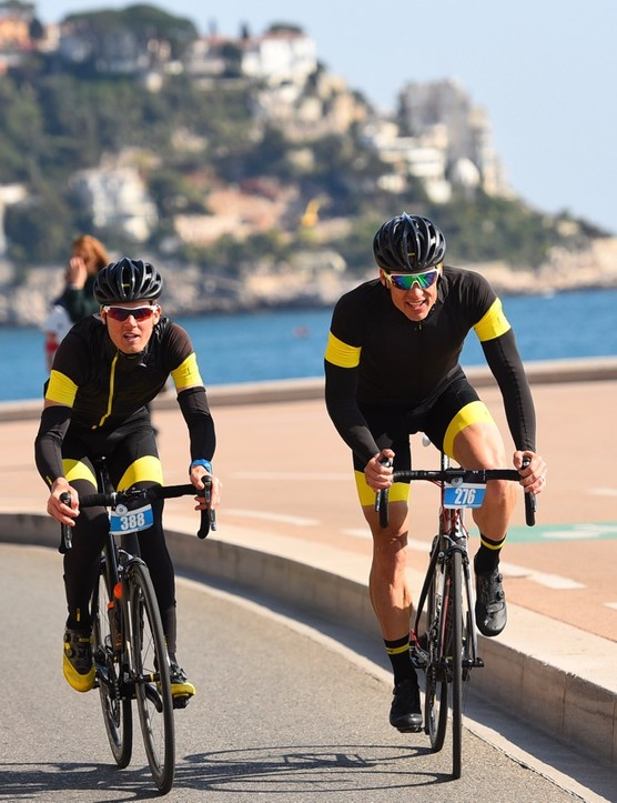 Paris-Nice Challenge is a big loop, starting and finishes on the Nice promenade