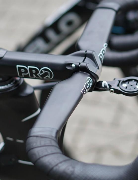 Christian Knees (Team Sky) had the Vibe Aero on his bike before the Tour began