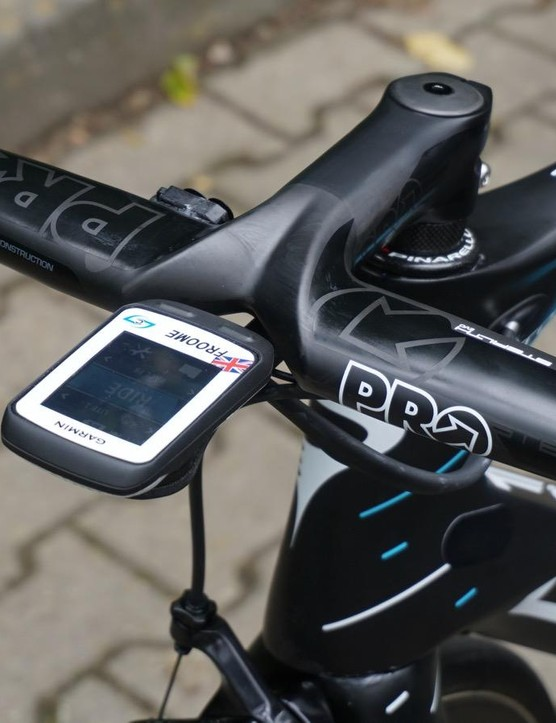 And of course PRO also has this integrated Stealth EVO bar/stem, used by a certain Chris Froome at the Tour de France