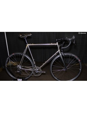 An Honorable Mention went to Demon for its lugged road bike. Using oversized tubing and custom lugs, it was built specifically for a large rider