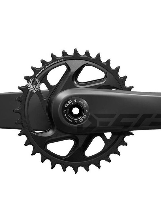 The SRAM Descendant crank for enduro riders