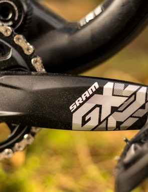 The three bolt, direct mount X-Sync 2 chain ring is a doddle to replace should you want to play around with ring sizes while perfecting setup. The chain retention and lack of noise from the X-Sync 2 ring is seriously impressive, too