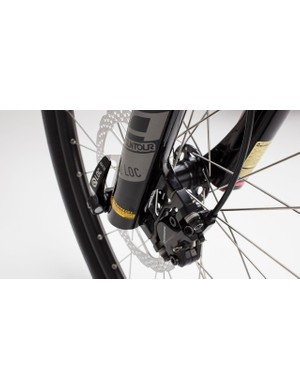 Hydraulic disc brakes are a welcome addition