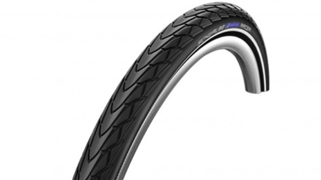 The Marathon Racer is a heavy but nigh-on indestructible tyre