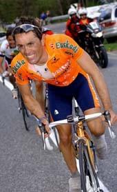 CYCLING : TOUR OF ROMANDIE 2004ETXEBARRIA David ( ESP ) STAGE 3 : ROMONT - MORGINSRONDE / ETAPE RIT