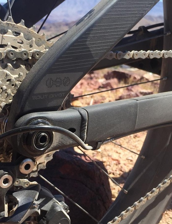 Like Devinci's other full suspension models, the Marshall relies on Dave Weagle's Split Pivot suspension design