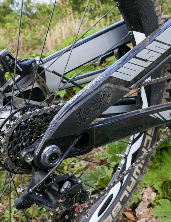The design pedals well but can still cope with some seriously big terrain