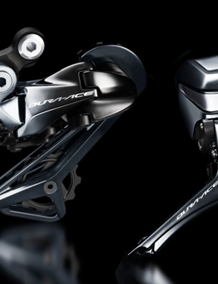 Shimano FD-R9150 and RD-R9150 Di2 mechs