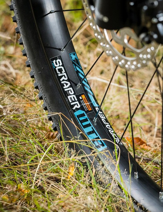 Plus tyres to tame those tricky trail sections