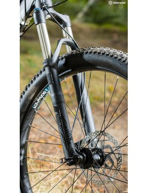 Added ride smoothness comes courtesy of the reliable RockShox fork