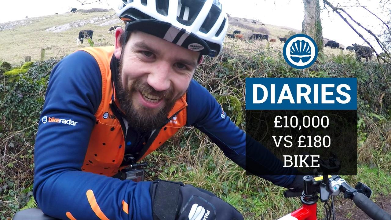 BikeRadar Diaries hill climb challenge