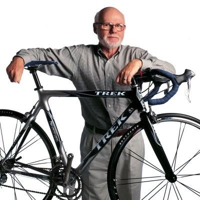 Richard Burke, Trek founder, 1934 - 2008.