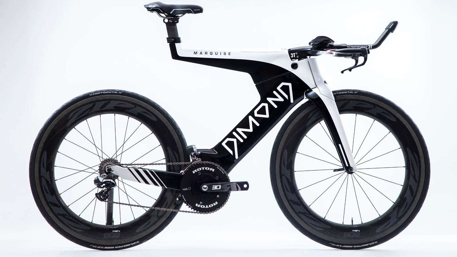 The new Dimond Marquise is an extreme looking, wind cheating, tri machine