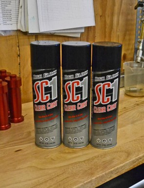DirtLabs swears by Maxima's SC1 cleaner and protectant