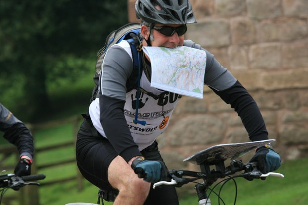 Mountain bike orienteering combines bike handling, fitness and map reading skills