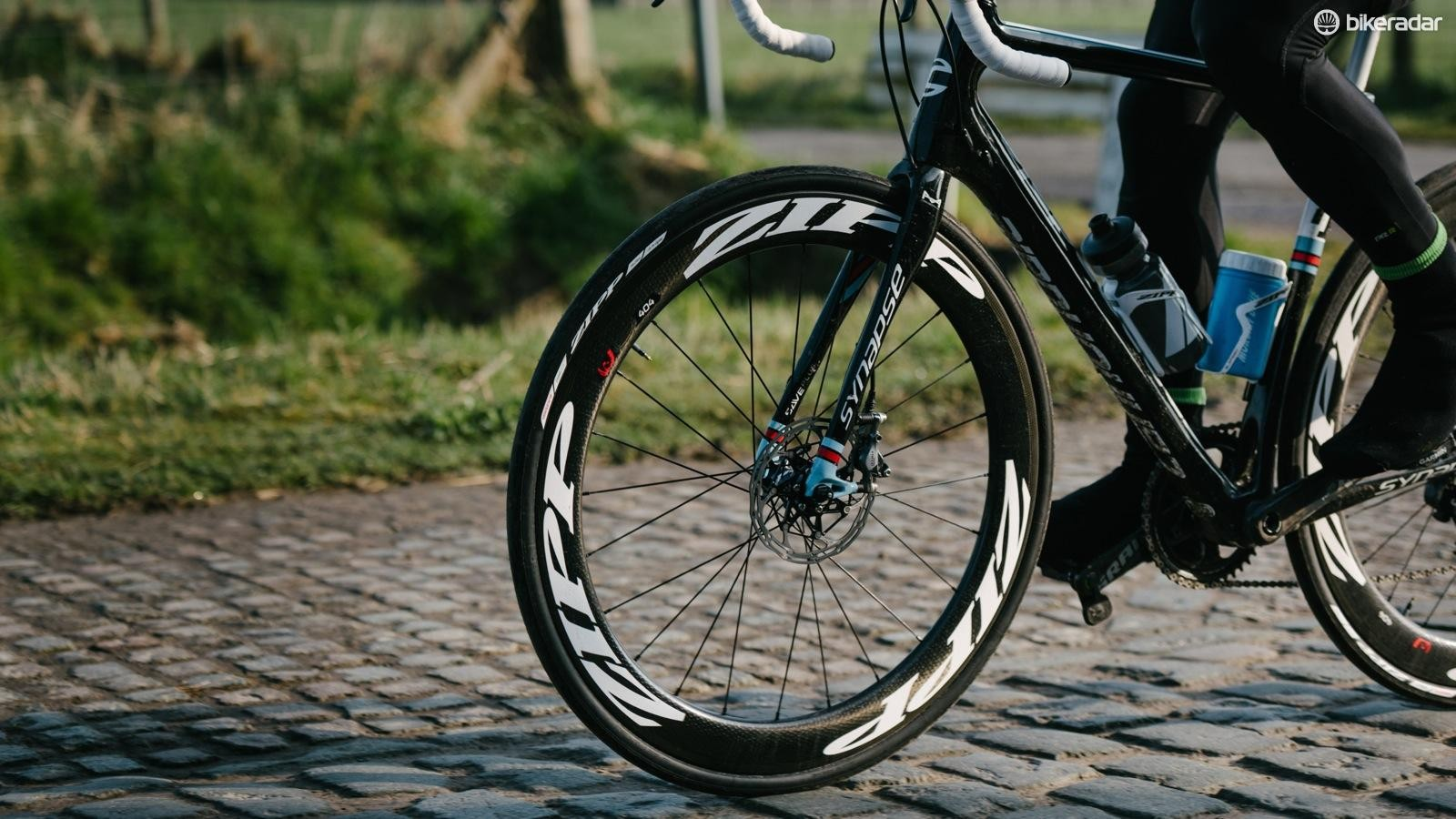 Disc brakes are increasingly found on endurance bikes