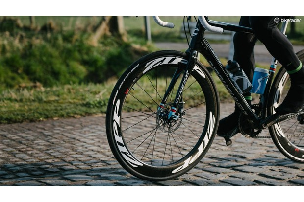 Disc brakes are increasingly found on endurance bikes