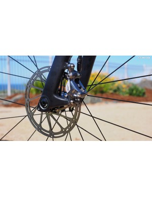 Disc brakes deliver powerful and consistent stopping power in all conditions