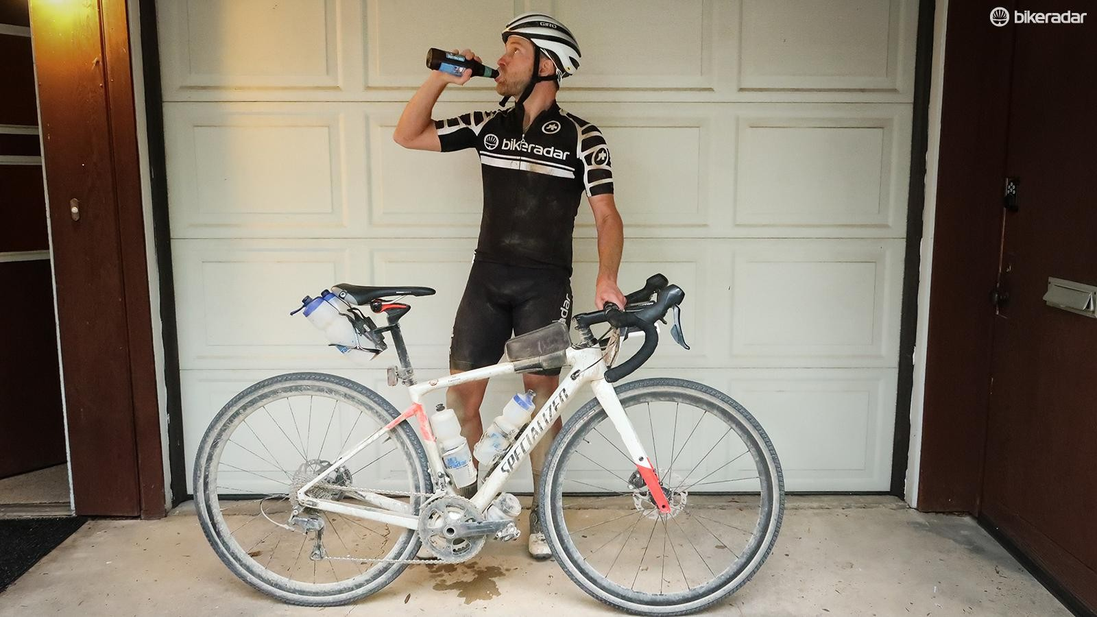 Done and dusted. Freestate Brewing's Dirty Kanza Kölsch is a superb recovery drink