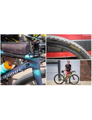 Here's a look at some of the tech from this year's Dirty Kanza 200