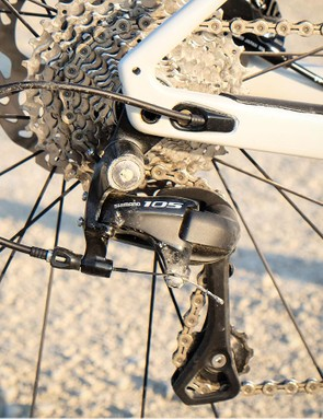 Shimano 105 might lack the sex appeal of Dura-Ace but it's no less effective