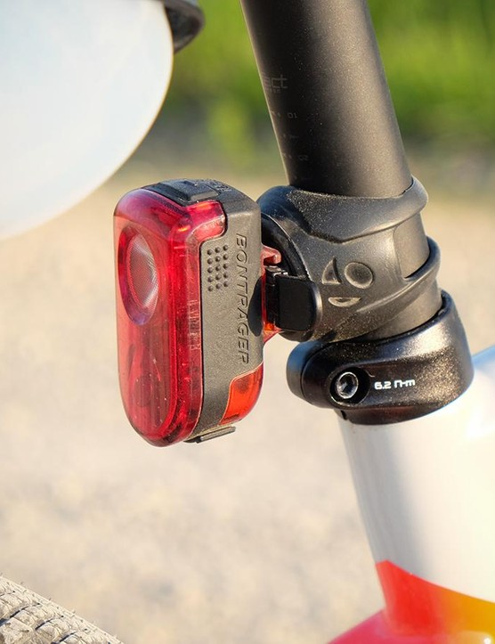 Bontrager's Flare R tail light is my go to