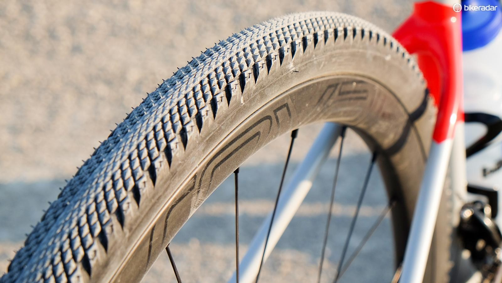 Specialized's 700x38mm Trigger Pro tires are fast and sturdy