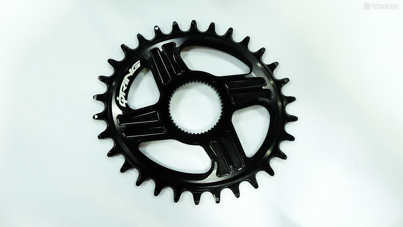Rotor's new direct mount QX rings are available in 30, 32 and 34t versions