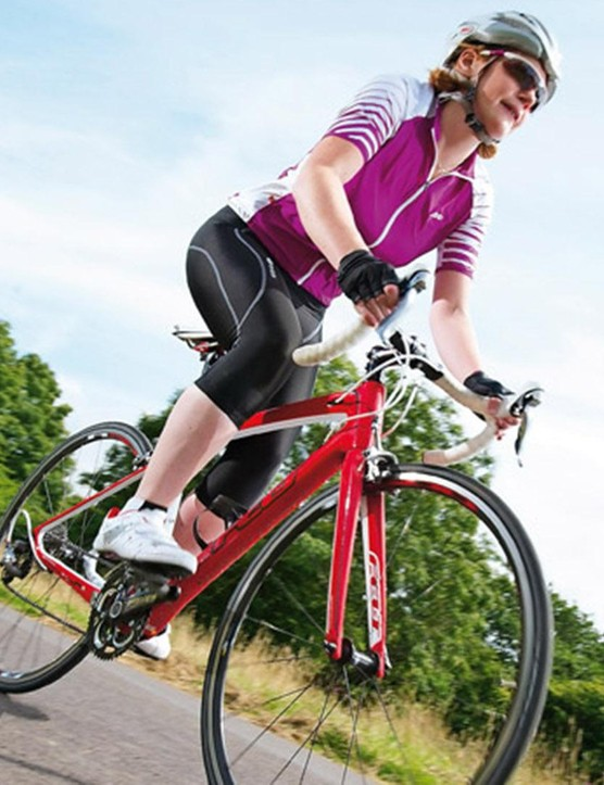 Lighter wheels can reduce the overall weight of your bike, so more of your energy goes into driving it forwards