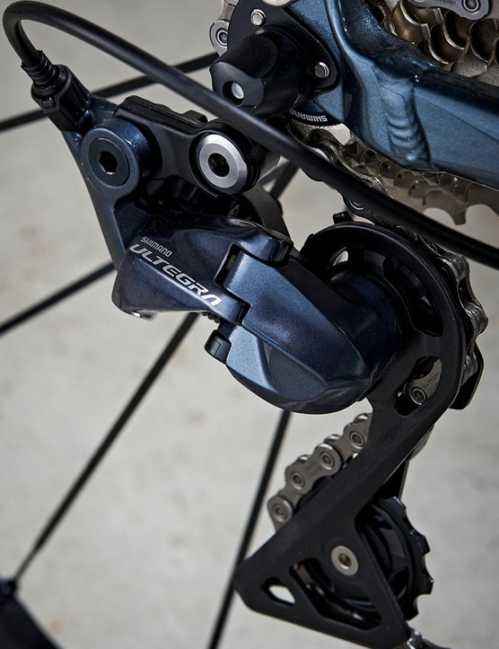 My model's shifting was a mix of Shimano Ultegra and 105