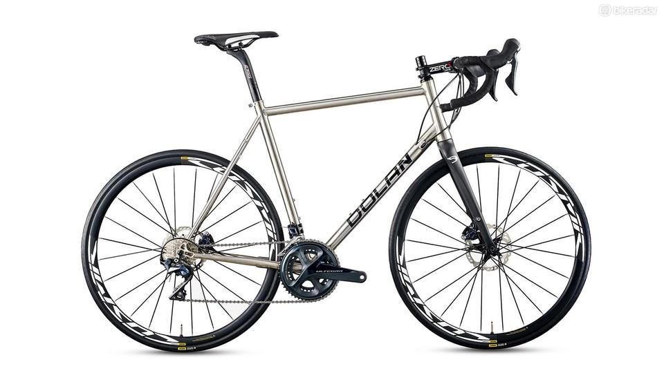 Dolan Titanium ADX Disc Ultegra review - BikeRadar